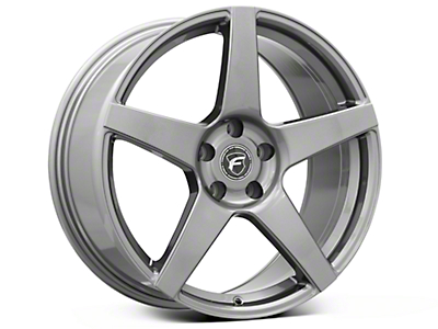 Gunmetal Forgestar CF5 Monoblock Wheel - 19x9 (05-14 All)