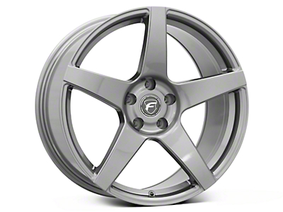 Gunmetal Forgestar CF5 Monoblock Wheel - 19x10 (05-14 All)