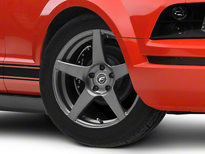 Gunmetal Forgestar CF5 Monoblock Wheel - 18x9 (05-14 All)