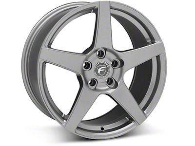 Gunmetal Forgestar CF5 Monoblock Wheel - 18x10 (05-14 All)