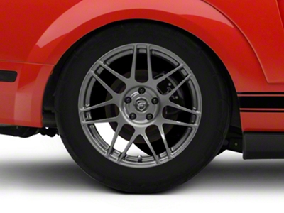 Forgestar F14 Monoblock Gunmetal Wheel - 18x10 (05-14 All)