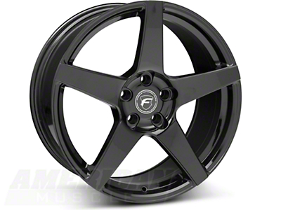 Forgestar CF5 Monoblock Piano Black Wheel - 19x9 (05-14 All)