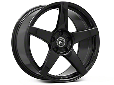 Piano Black Forgestar CF5 Monoblock Wheel - 19x10 (05-14 All)