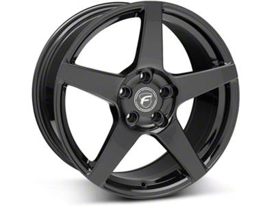 Forgestar CF5 Monoblock Piano Black Wheel - 18x9 (05-14 All)