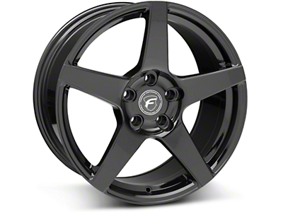 Piano Black Forgestar CF5 Monoblock Wheel - 18x9 (05-14 All)