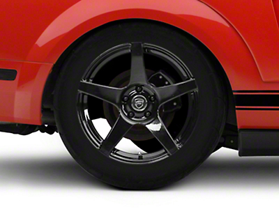 Forgestar CF5 Monoblock Piano Black Wheel - 18x10 (05-14 All)
