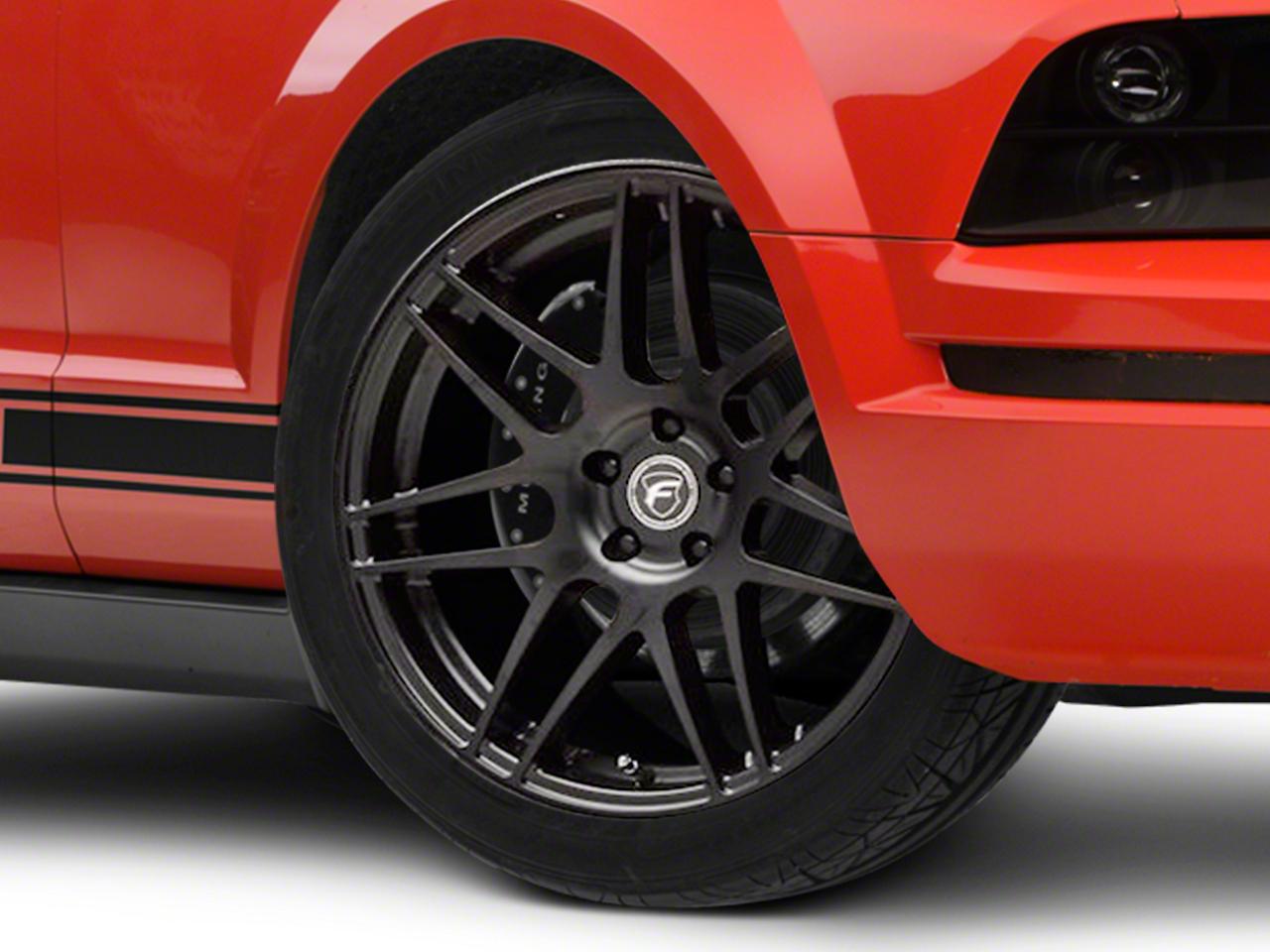 Forgestar F14 Monoblock Matte Black Wheel - 20x9 (05-14 All)