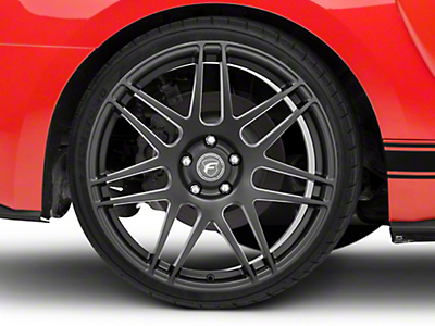 Forgestar F14 Monoblock Deep Concave Monoblock Matte Black Wheel - 20x11 (15-16 All)