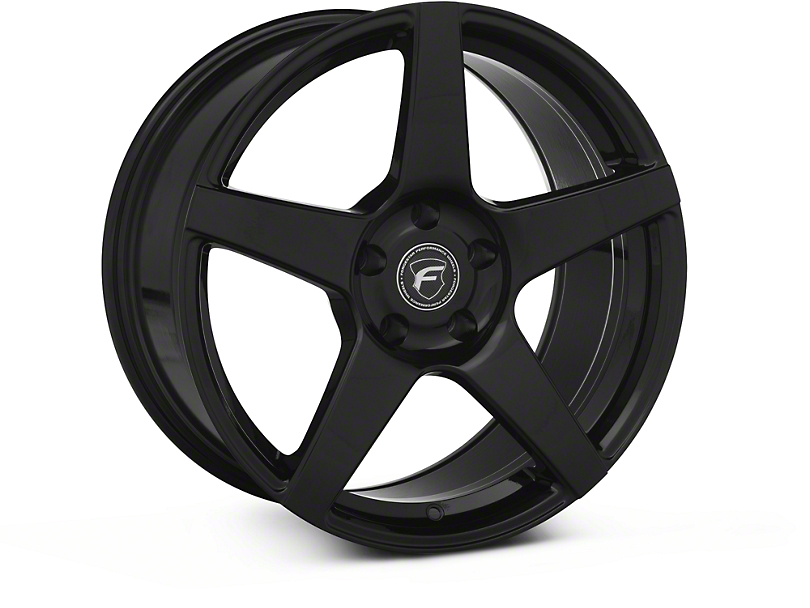 Forgestar CF5 Monoblock Piano Black Wheel - 18x9 (94-04)