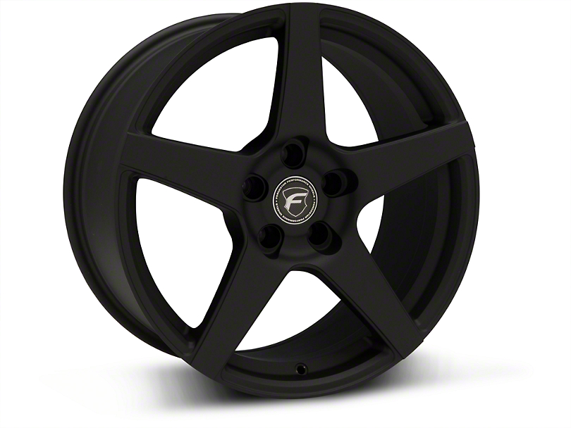 Forgestar CF5 Monoblock Textured Black Wheel - 18x9 (94-04 All)