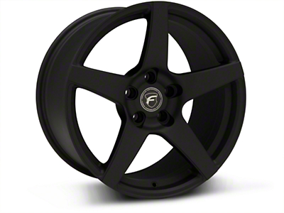 Textured Black Forgestar CF5 Monoblock Wheel - 18x10 (94-04 All)