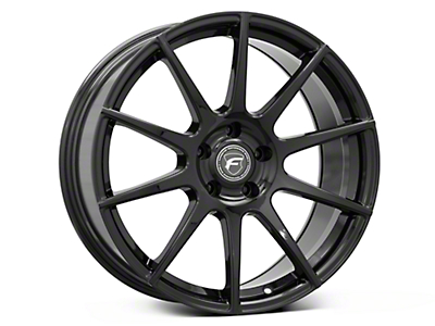 Forgestar CF10 Monoblock Piano Black Wheel - 19x9 (05-14 All)
