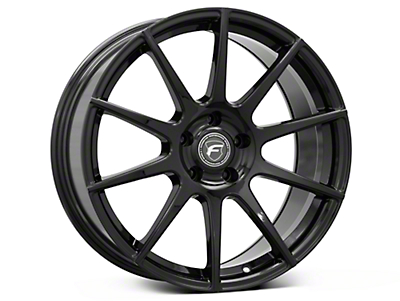 Forgestar CF10 Monoblock Piano Black Wheel - 19x10 (05-14 All)