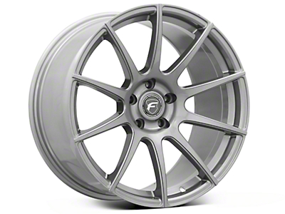 Gunmetal Forgestar CF10 Monoblock Wheel - 19x10 (05-14 All)