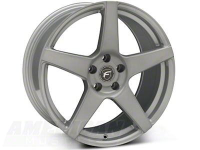 Silver Forgestar CF5 Monoblock Wheel - 19x10 (05-14 All)