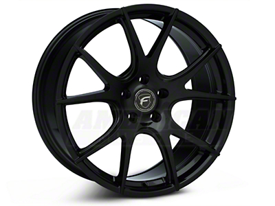 Piano Black Forgestar CF5V Monoblock Wheel - 19x9 (05-14 All)