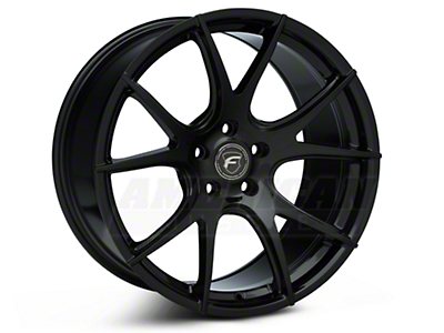 Piano Black Forgestar CF5V Monoblock Wheel - 19x10 (05-14 All)