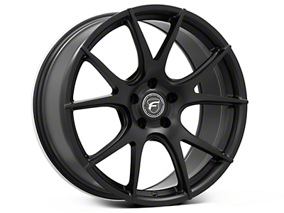 Matte Black Forgestar CF5V Monoblock Wheel - 19x9 (05-14 All)