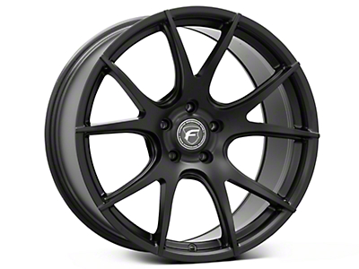 Matte Black Forgestar CF5V Monoblock Wheel - 19x10 (05-14 All)