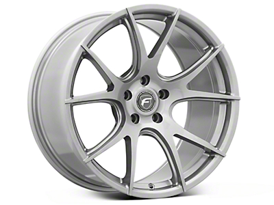 Gunmetal Forgestar CF5V Monoblock Wheel - 19x10 (05-14 All)