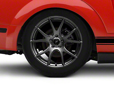 Forgestar CF5V Monoblock Gunmetal Wheel - 19x10 (05-14 All)