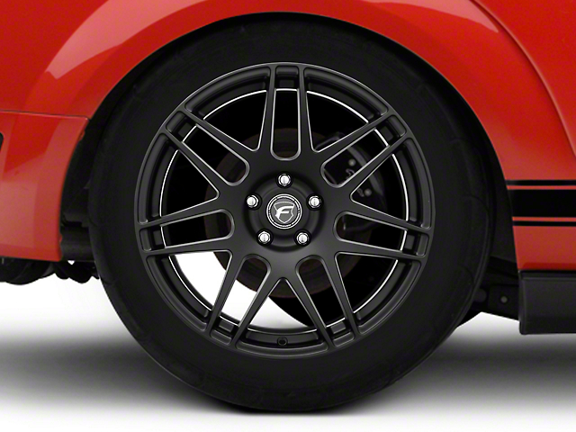 Forgestar F14 Monoblock Matte Black Wheel - 19x11 (05-14 All)