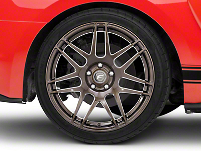 Forgestar F14 Monoblock Bronze Burst Wheel - 19x10 (15-16 All)