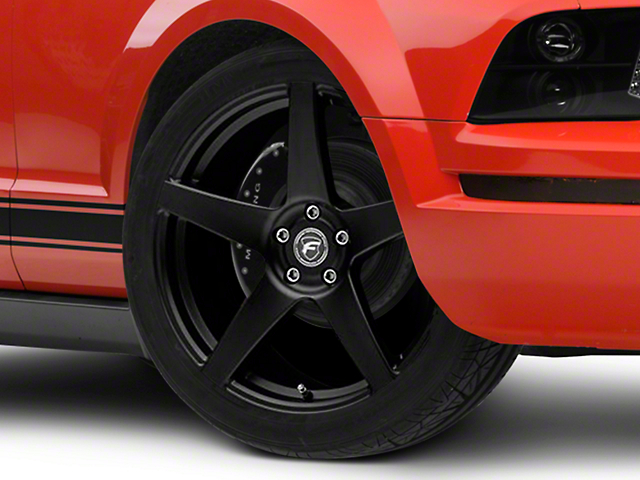 Forgestar CF5 Monoblock Matte Black Wheel - 20x9 (05-14 All)