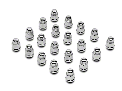 Chrome Acorn Lug Nuts - 13/16in (79-14 All)