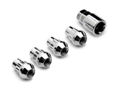 Locks with Key for Chrome Acorn Lug Nuts - 1/2 in x 20 (79-14 All)