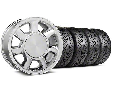 93 Cobra Style Chrome Wheel & Sumitomo Tire Kit - 17x8.5 (87-93; Excludes 93 Cobra)