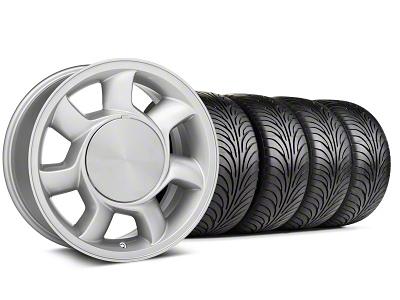 93 Cobra Style Silver Wheel & Sumitomo Tire Kit - 17x8.5 (87-93; Excludes 93 Cobra)