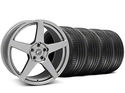 Forgestar CF5 Gunmetal Wheel & Sumitomo Tire Kit - 20x9 (05-14 All)