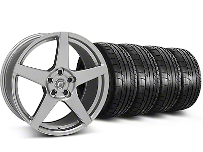 Forgestar CF5 Gunmetal Wheel & Mickey Thompson Tire Kit - 20x9 (05-14 All)