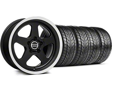 SC Style Black Wheel & NITTO Tire Kit - 17x9 (94-98 All)