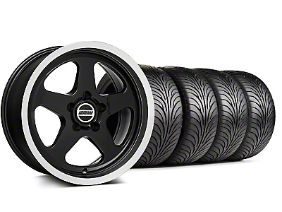 SC Style Black Wheel & Sumitomo Tire Kit - 17x9 (99-04 All)