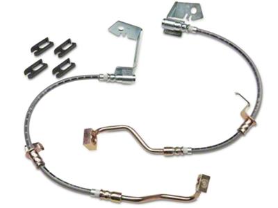 J&M Stainless Steel Teflon Brake Lines - Front (05-14 GT, V6)