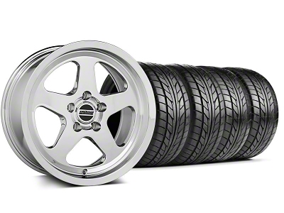 Staggered SC Style Chrome Wheel & NITTO Tire Kit - 17x9/10.5 (94-98 All)