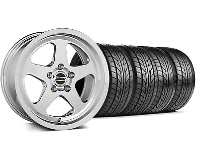 Staggered SC Style Chrome Wheel & NITTO Tire Kit - 17x9/10 (99-04 All)