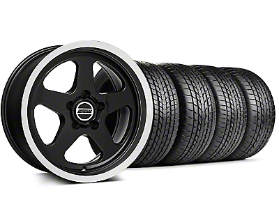 Staggered SC Style Black Wheel & Sumitomo Tire Kit - 17x9/10 (99-04 All)