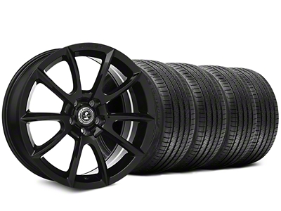 Staggered Super Snake Style Black Wheel & Sumitomo Tire Kit - 20x9/10 (05-14 All)