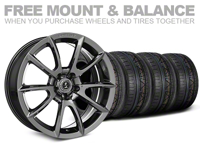 Staggered Super Snake Style Chrome Wheel & NITTO INVO Tire Kit - 20x9/10 (05-14 All)