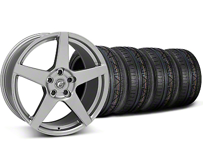 Forgestar Staggered CF5 Gunmetal Wheel & NITTO INVO Tire Kit - 20x9/11 (05-14 All)