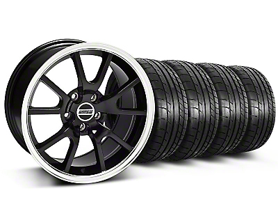 Staggered FR500 Black Wheel & Mickey Thompson Tire Kit - 17x9/10.5 (99-04 All)