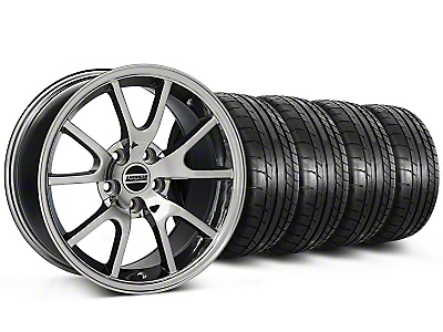 Staggered FR500 Style Chrome Wheel & Mickey Thompson Tire Kit - 17x9/10.5 (99-04 All)