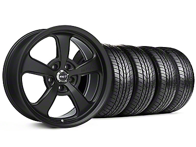 Mickey Thompson SC-5 Flat Black Wheel & Sumitomo All Season Tire Kit - 17x9 (99-04 All)