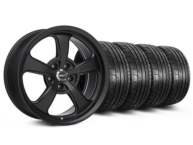 Mickey Thompson SC-5 Flat Black Wheel & Mickey Thompson Tire Kit - 17x9 (99-04 All)
