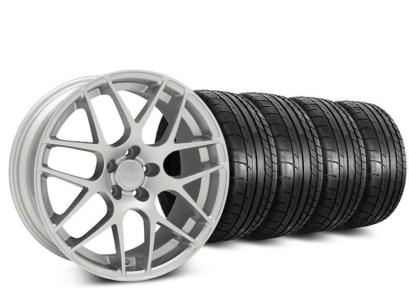AMR Silver Wheel & Mickey Thompson Tire Kit - 18x8 (94-98 All)