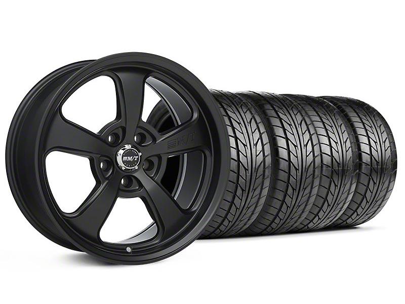 Mickey Thompson SC-5 Flat Black Wheel & NITTO Tire Kit - 18x9 (94-98 All)