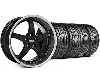 MMD Kage Black Wheel & NITTO Tire Kit - 18x9 (94-98 All)